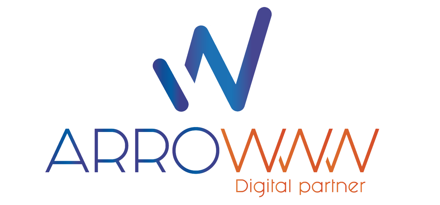 logo arrowww digital partner agence SEA et SEO